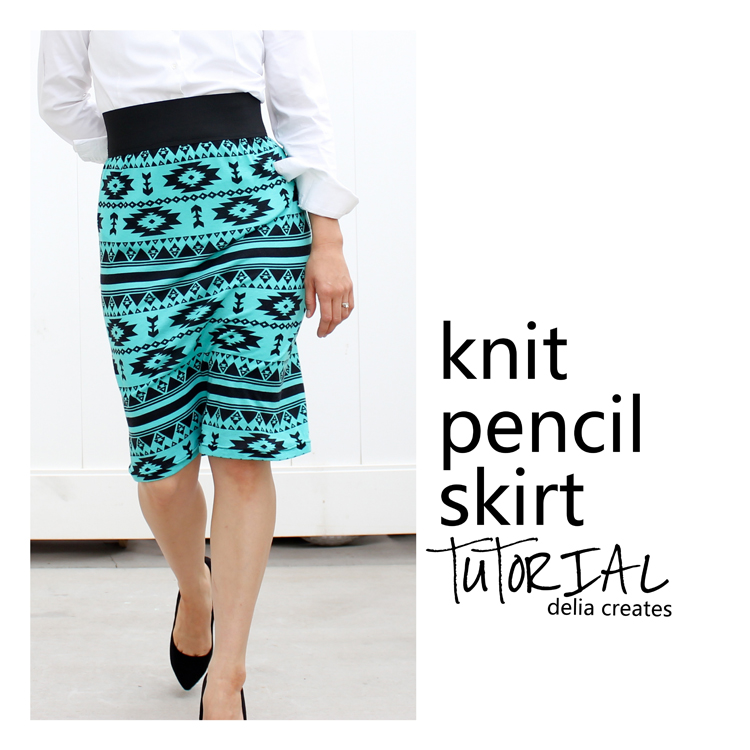 how to make a pencil skirt pattern