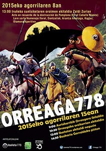 778 ~ ANIVERSARIO DE LA BATALLA DE ORREAGA~ 2015
