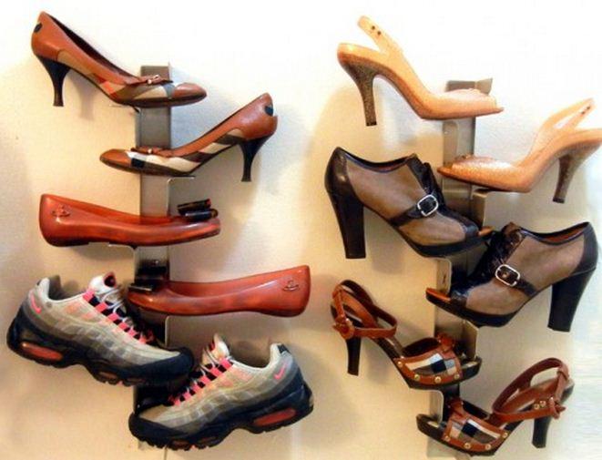 Organizador de zapatos casero - Como hacer un organizador de zapatos casero ...