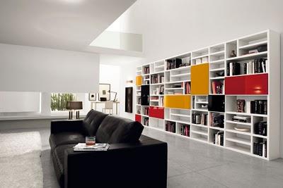 Decoraciones y mas modernos libreros estilos contemporaneos en el 2013 - Libreros de madera modernos ...