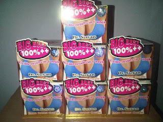 Stock Cream Pembesar Payudara Alami Dr. Susan Extra Bust