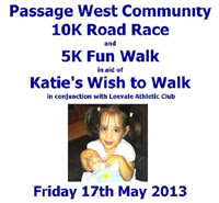 New 10k road race near Cork City...