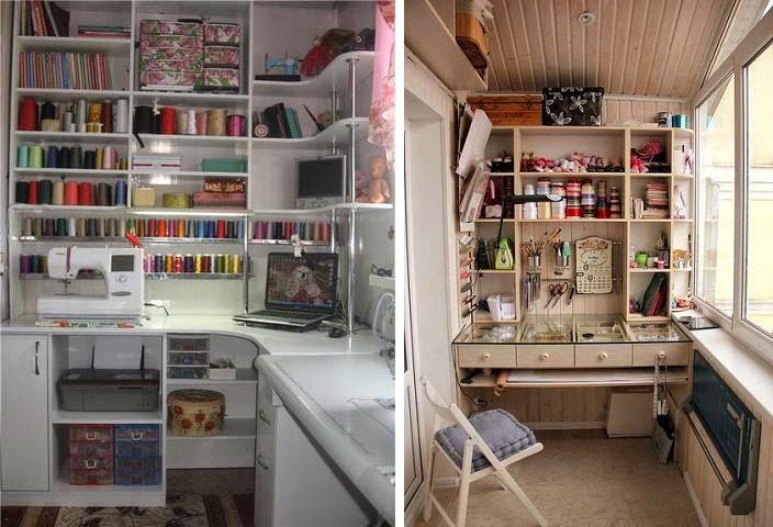 Mia casa: идеи для оформления мастерской.
