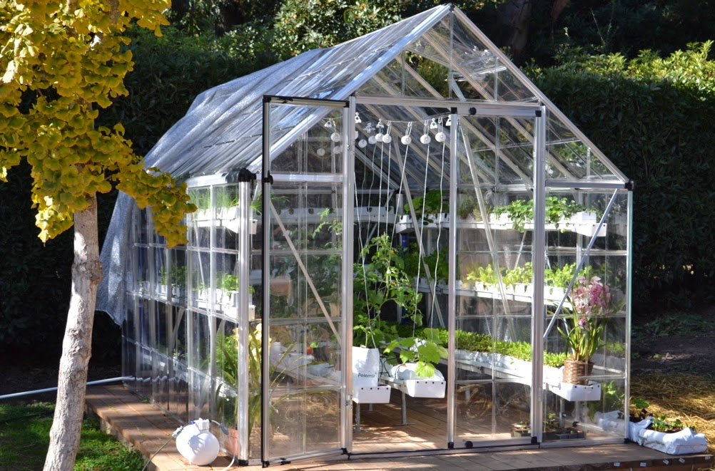 How to install outdoor curtains - Benefit Of Greenhouse For Hydroponic Learning And Creating A Simple