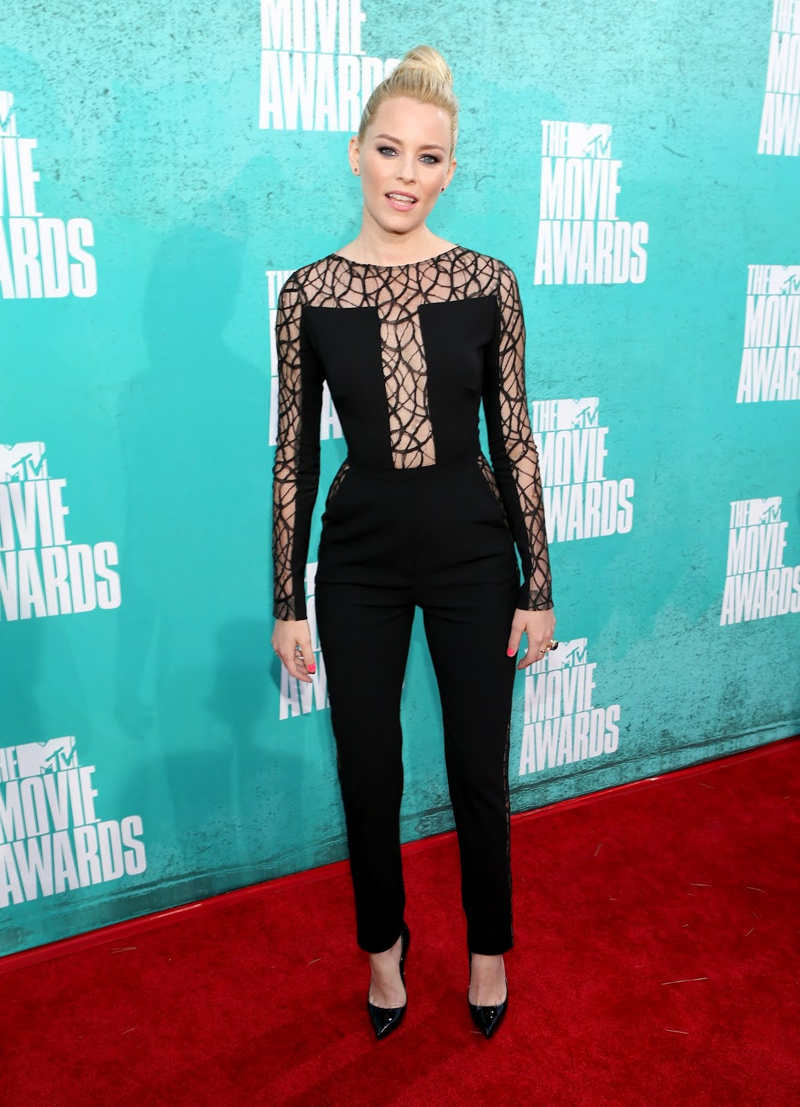 Cassidy Banks Blue Dress