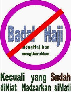 Badal Haji Bagi Yang Sudah Meninggal
