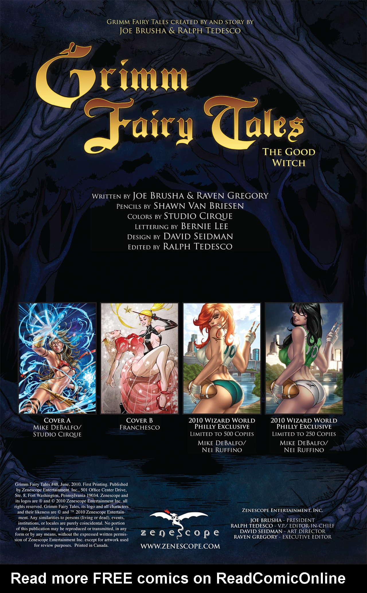 Grimm Fairy Tales (2005) Issue #48 #51 - English 2
