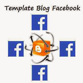 Template Blog Facebook