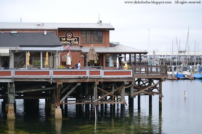 monterey bay cannery row wharf pier beach travel photography california coastline