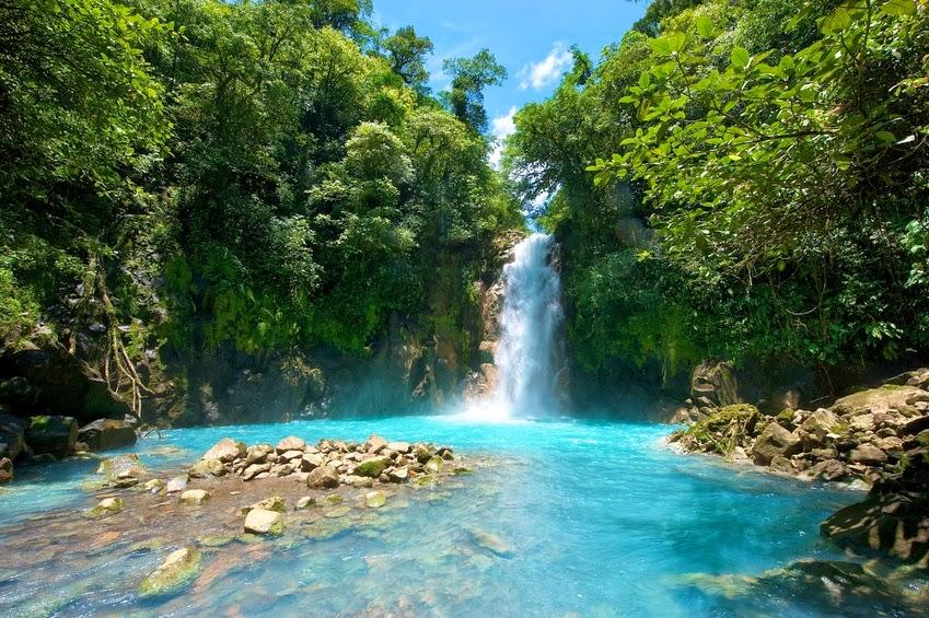 Fantastisk natur i Costa Rica