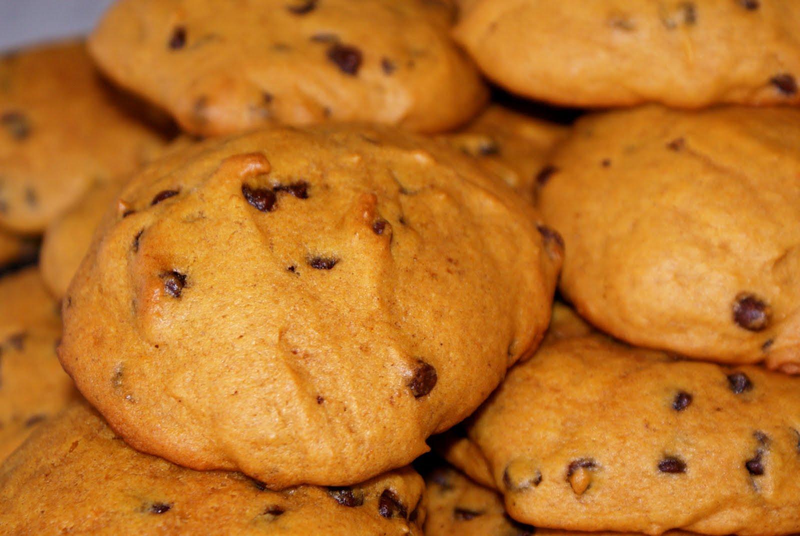 Little Bit of Home: Weight Watchers Pumpkin Chocolate Chip Cookies