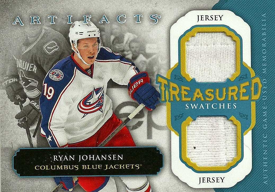 Hell s Valuable Collectibles  Ryan Johansen Jersey Card 0c9dfd198
