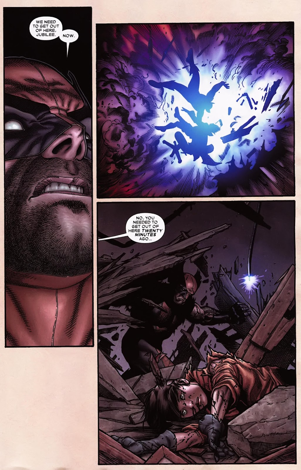 Read online Wolverine (2003) comic -  Issue #70 - 4