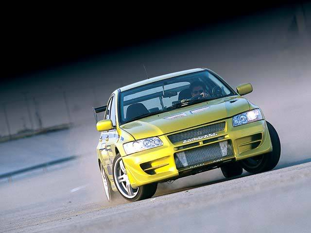 Mitsubishi Evo Fast And Furious