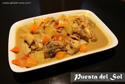 Puesta del Sol Camiguin Chicken Curry