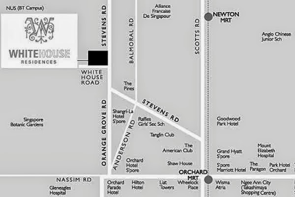 House Location Map Location Map White House
