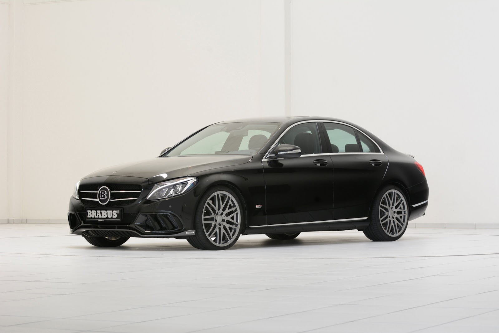 Brabus tunes into new 2015 mercedes benz c class w205 41 for Mercedes benz w205