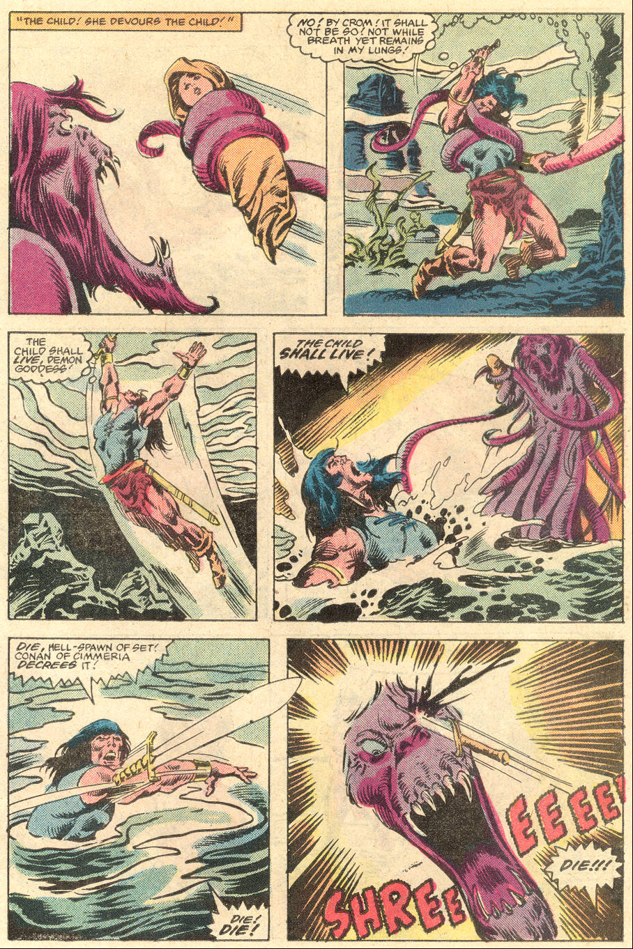 Conan the Barbarian (1970) Issue #136 #148 - English 20