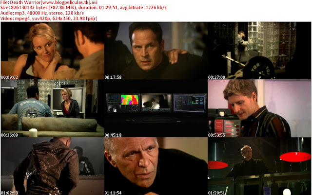 ver online Death Warrior, Death Warrior dvdrip latino