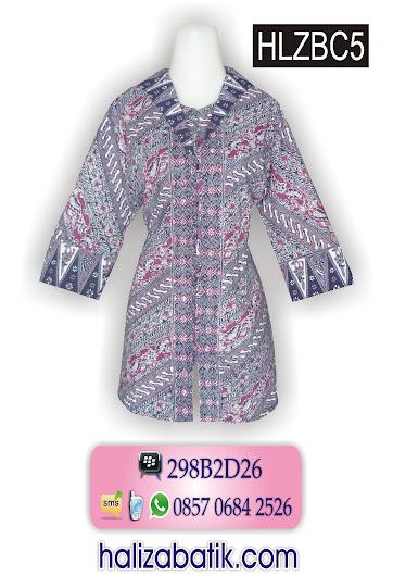 085706842526 INDOSAT, Busana Batik Wanita, Baju Batik, Model Batik, HLZBC5, http://grosirbatik-pekalongan.com/Blus-hlzbc5/