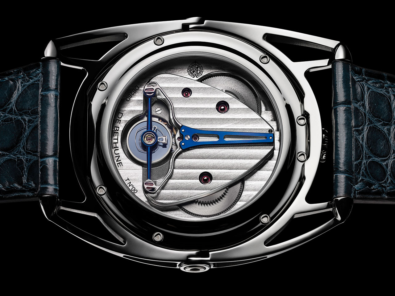De Bethune DB28 Digitale Watch back