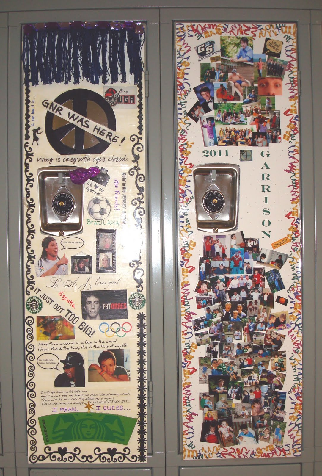 click on photo to see details - Locker Designs Ideas