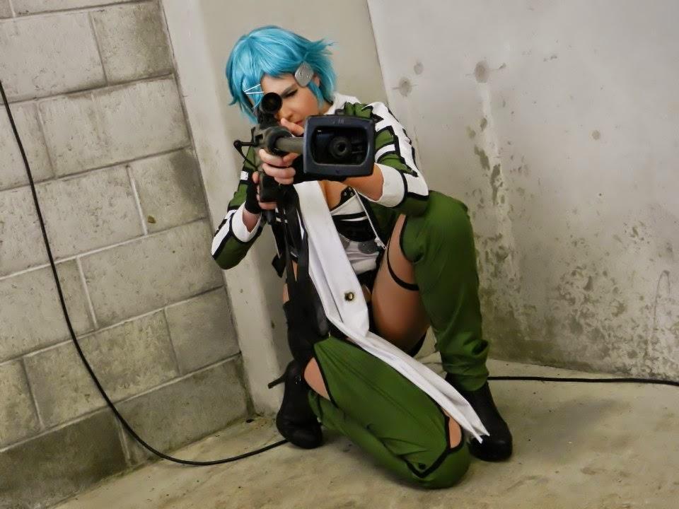 Foto Cosplay Sinon (Sword Art Online II) 03