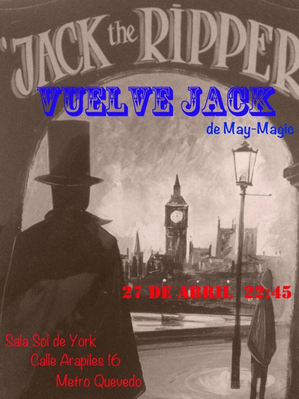 "Ganadores concurso ""Vuelve Jack"", espectáculo de magia bizarra"