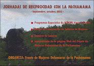 """""""Jornadas de Reciprocidad con la Pachamama"""""""