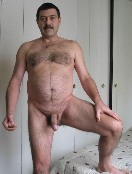 dad hairy men naked