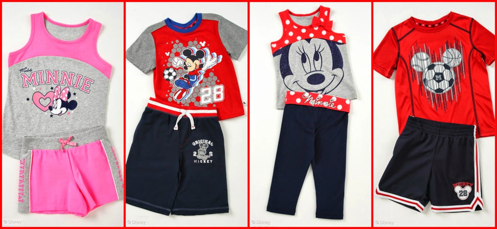 Mickey Mouse Minnie Mouse clothes