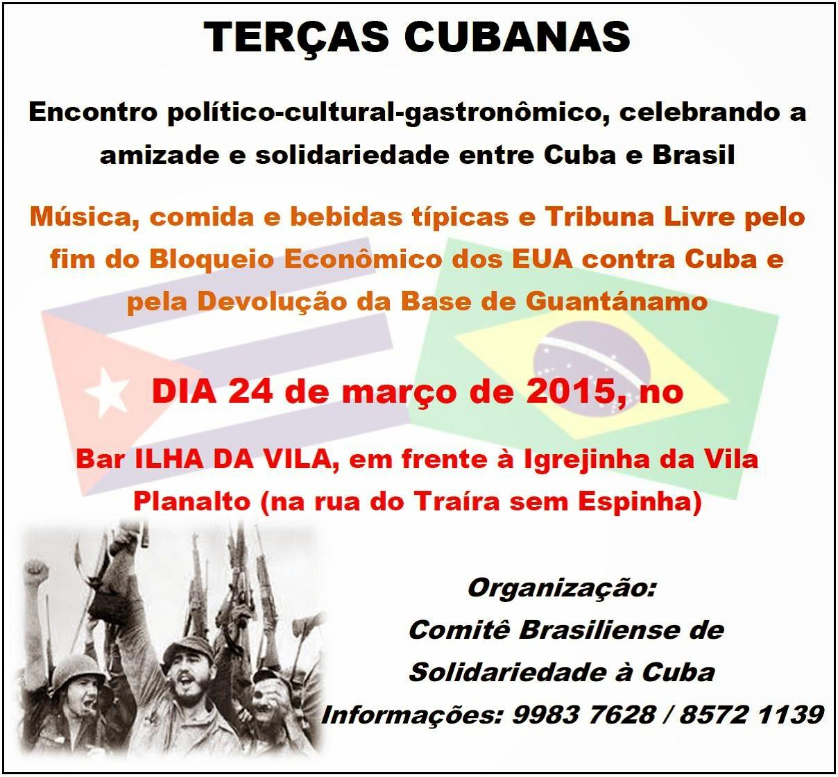 Terças Cubanas em Brasília