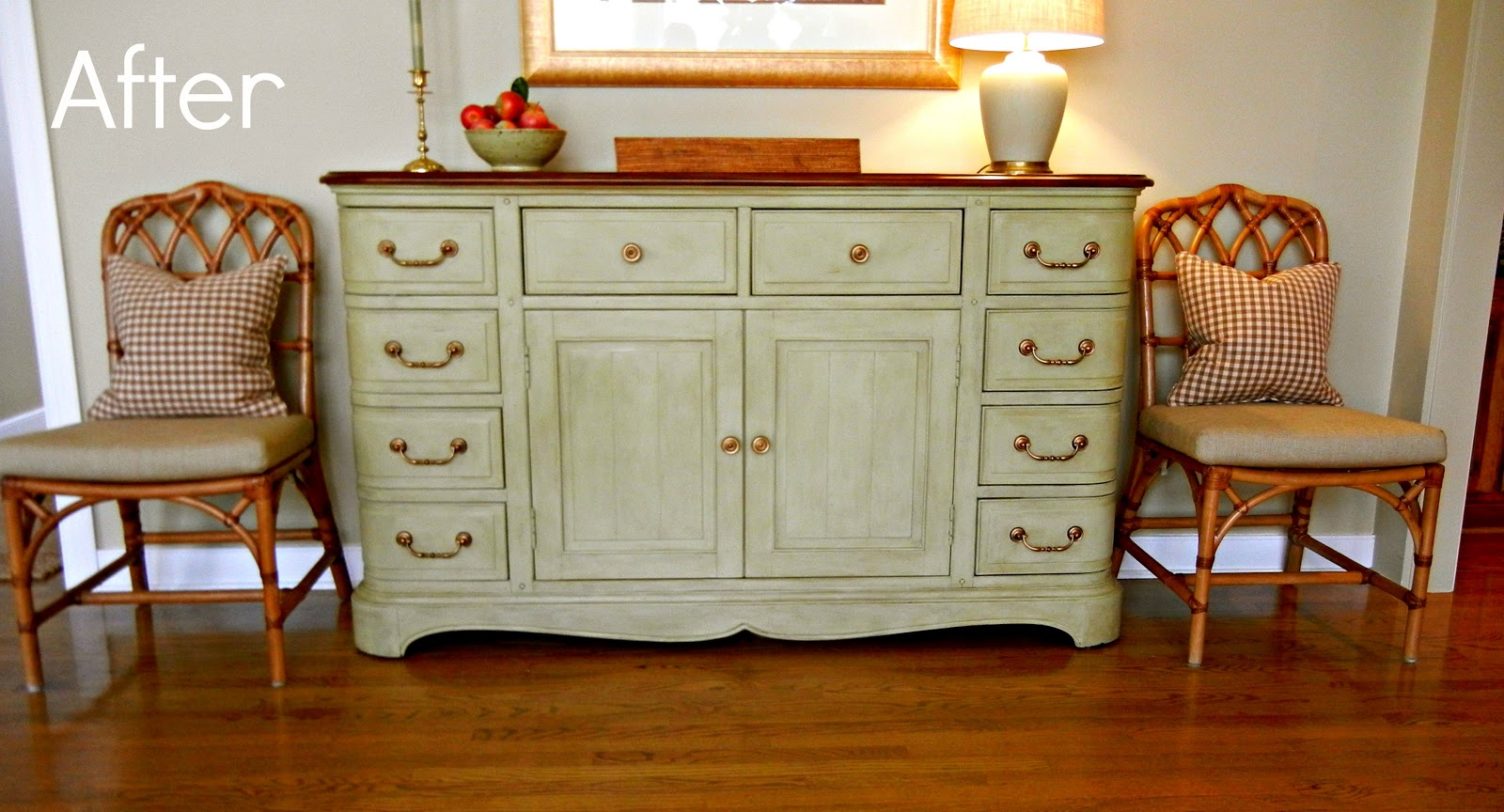 Painting with Annie Sloan Chalk Paint Buffets