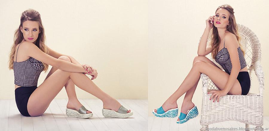 Lady Stork primavera verano 2015. Moda calzado femenino primavera verano 2015. Zapatos, sandalias.