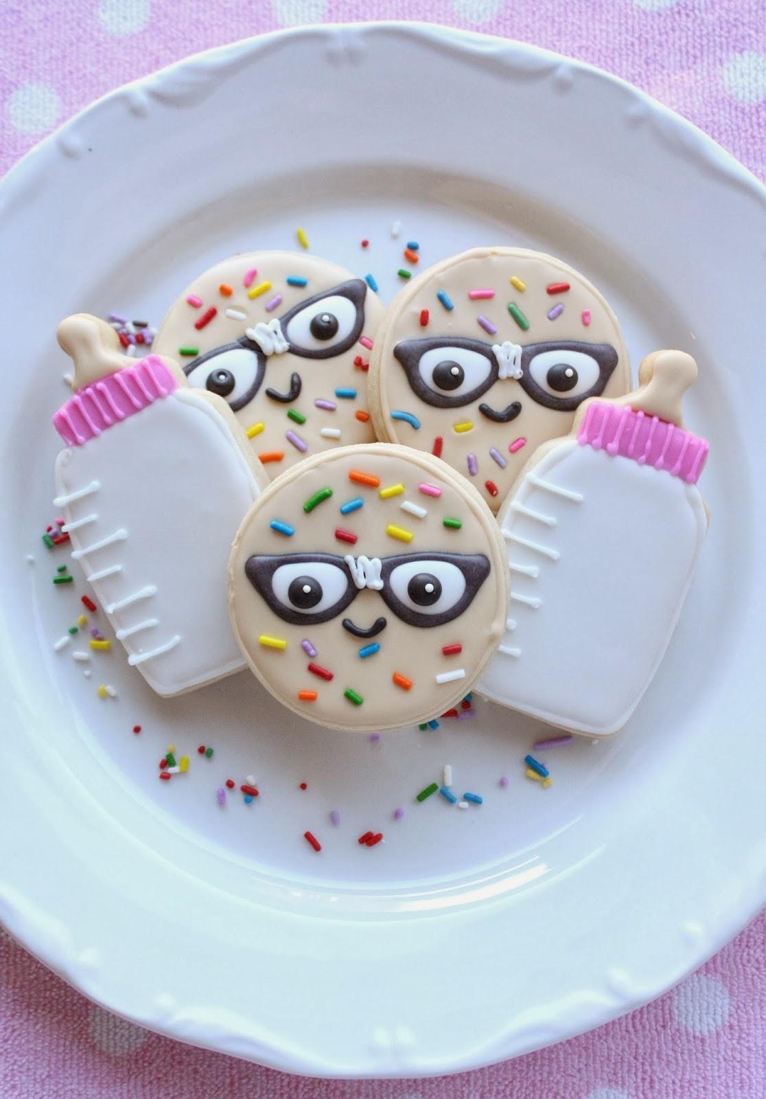 Geeky Sugar Cookies For Jenniferu0027s (NoYoMoCo) Geek Themed Baby Shower. A  Geeky Baby Shower You ...