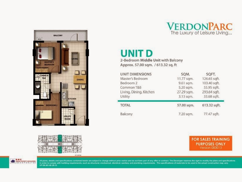 Verdon Parc Davao Unit D