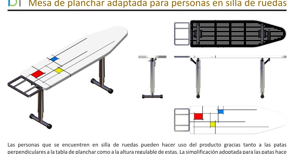 Adaptaciones en el hogar mesa de planchar adaptada a for Mesa para planchar