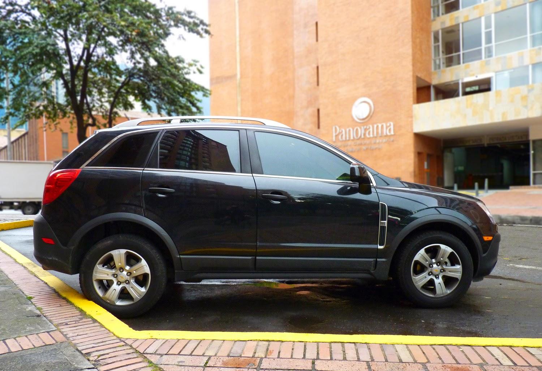 Autos en colombia chevrolet captiva sport 2 4l at parte 2 conducci n equipamiento y consumo