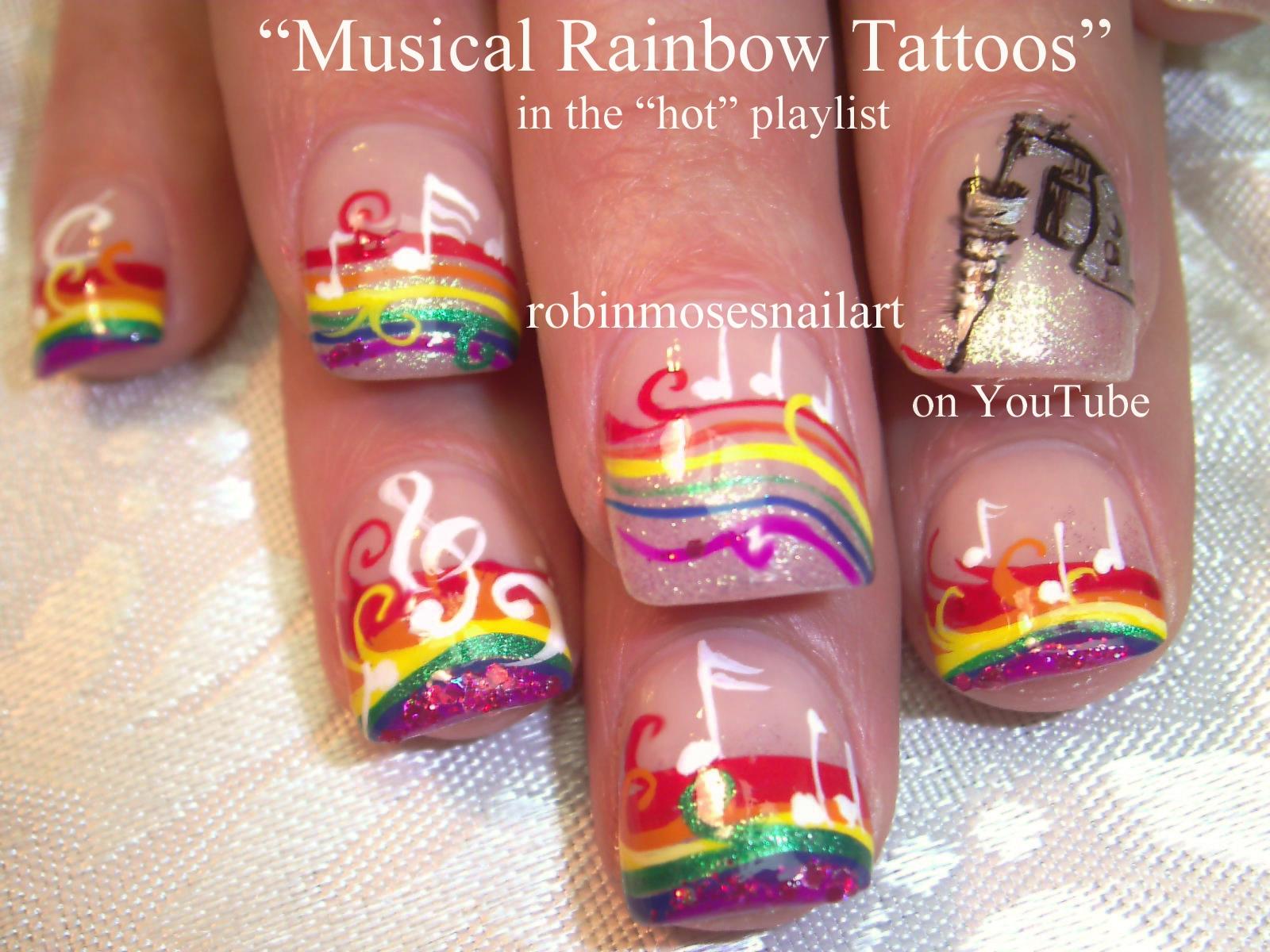 Nail Art Design: Neon Animal Print nails, Neon leopard nails, Neon ...