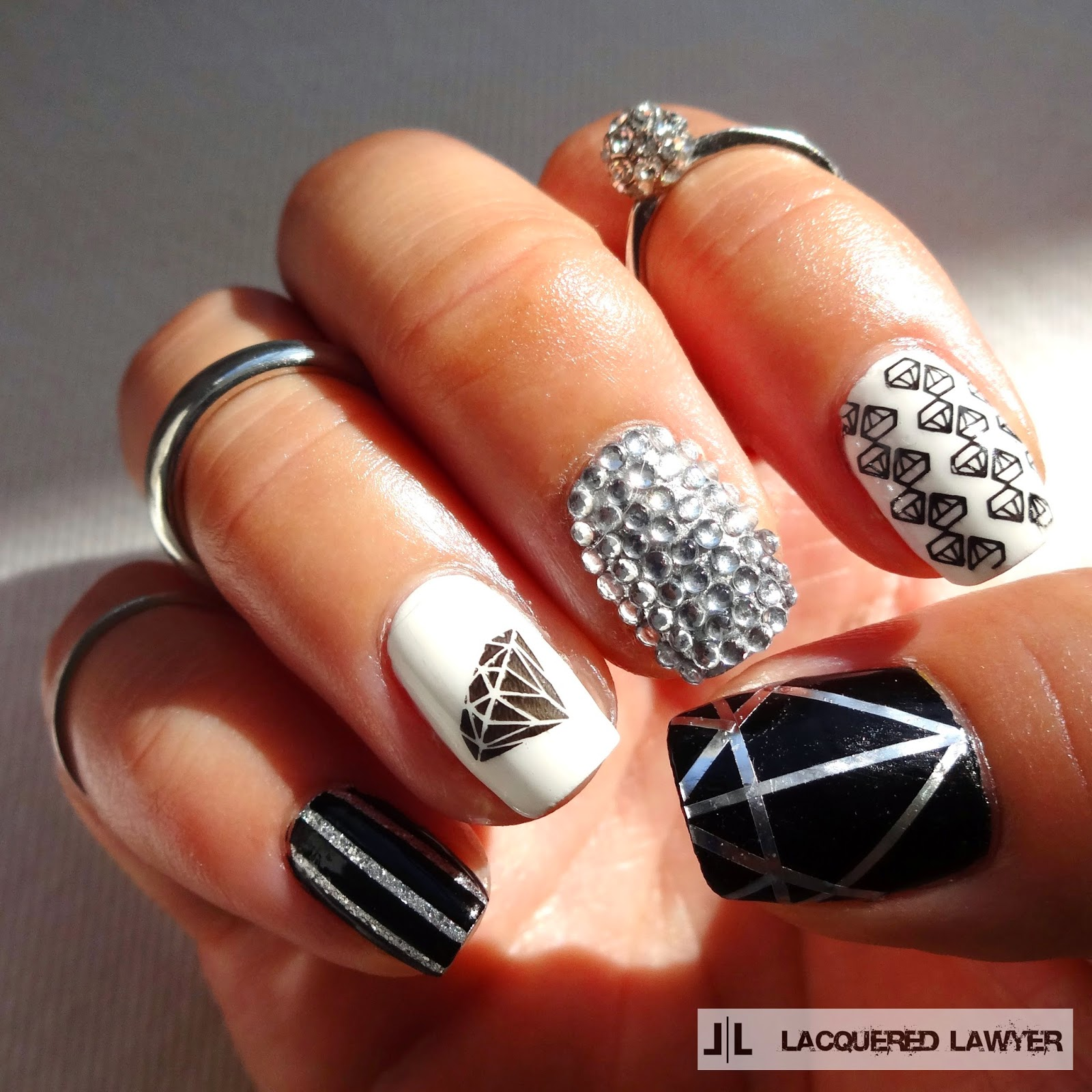 Diamonds Nail Art Design Ideas: Nail Art Blog: Shine Bright Like A Diamond