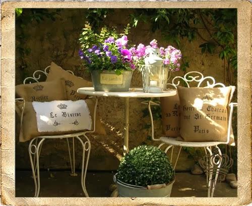 Cappelli di paglia shabby chic evergreen for Cuscini per sedie shabby chic