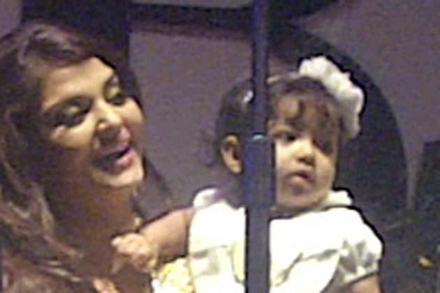 Aaradhya Bachchan at Big B Amitabh Bachchan's 70th Birthday Bash Aara4