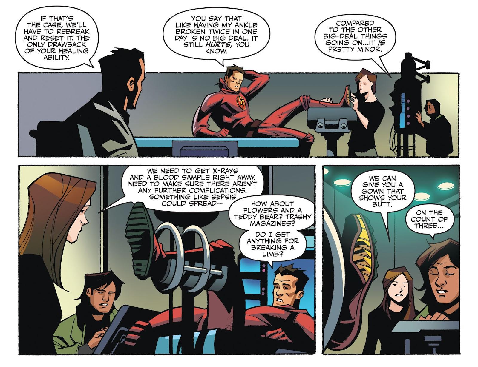 The Flash: Season Zero [I] Issue #2 #2 - English 4