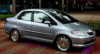 Kumpulan Gambar Modifikasi Keren dan Elegan Mobil Sedan Honda City Terbaru 2015