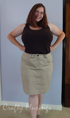 Simplicity 3754, view E, front view