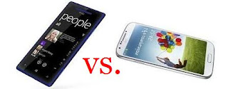 Samsung Galaxy S4 vs. HTC 8X