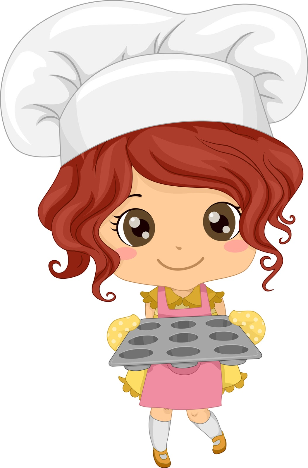 Little Girl Chefs 2 Clip Art | Free HD Wallpapers