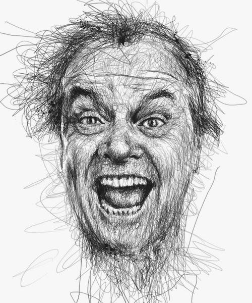 05-Jack-Nicholson-Malaysian-Artist-Vince-Low-Scribble-Dyslexia-www-designstack-co
