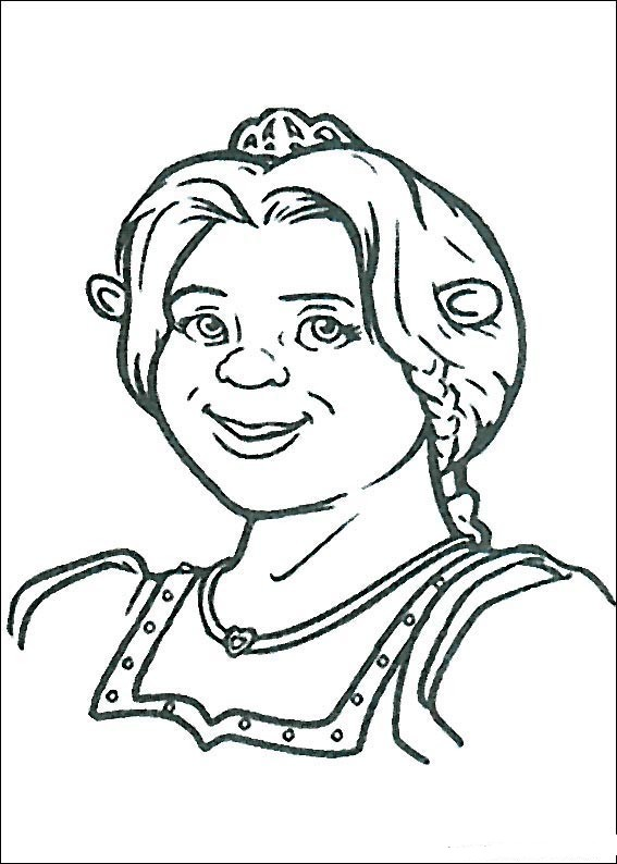 coloring pages shrek - photo#10
