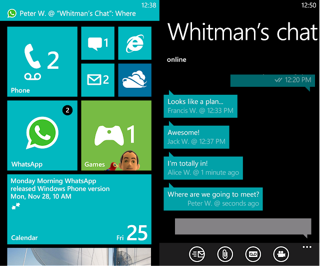Hasmanaged to snag some screenshots of what seems like the windows 8